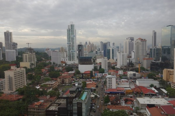 Panama City, cityscape, highrises, rooftops, Cruiser Casa view