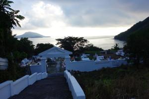 Cemetery on Taboga Island