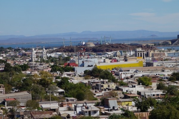 view over Guaymas