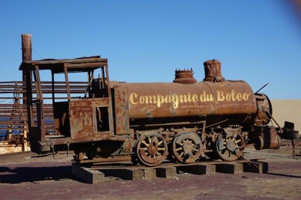 Compagnie du Boleo locomotive