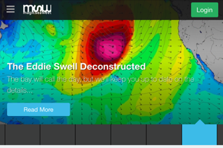 The swell, often 20 feet tall every 20 seconds, is getting them cranked in Hawail, but it, or similar swells, can affect coasts thousands of miles away.
