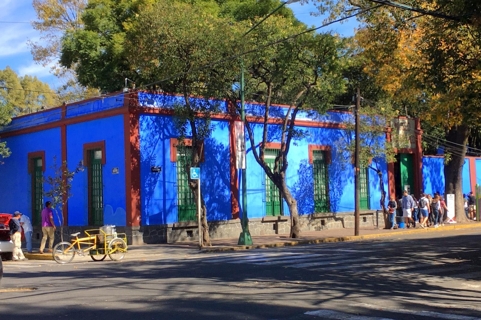 Coyohuacán Casa Azul