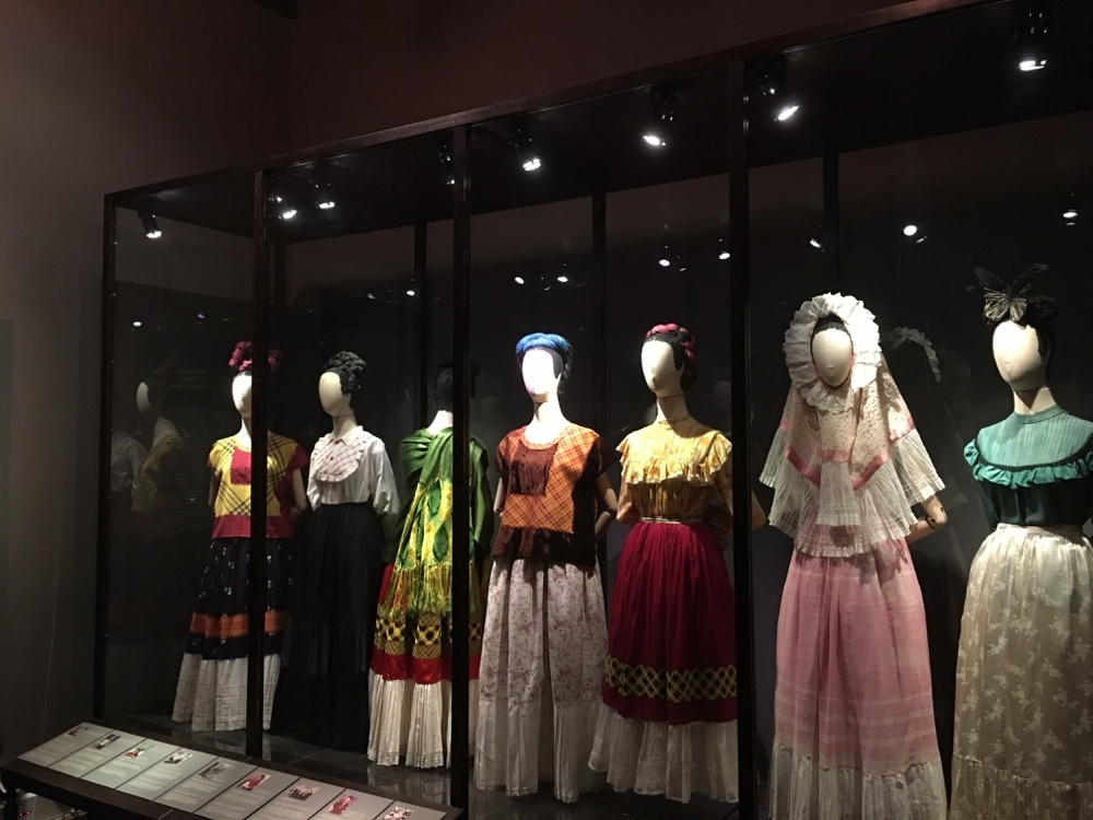 Wardrobe from Oaxaca and elsewhere