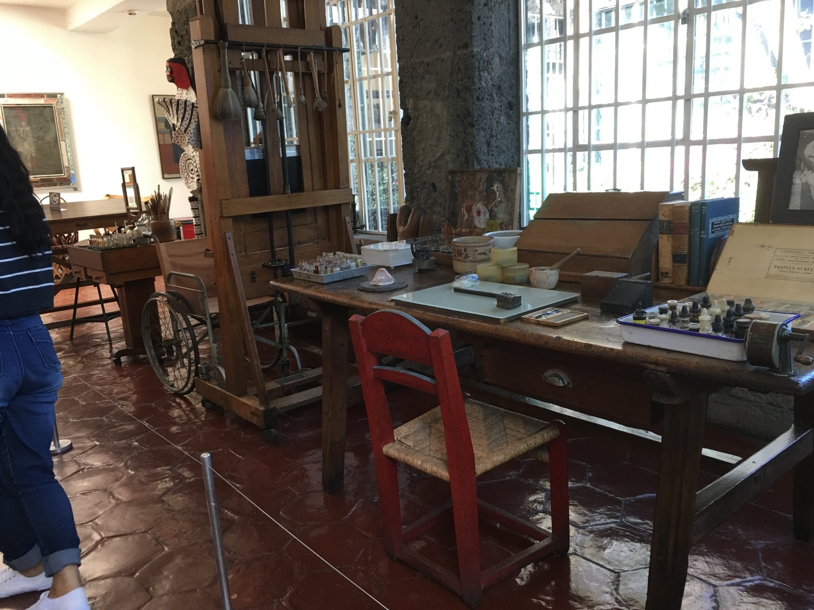 Artist studio of Frida Kahlo