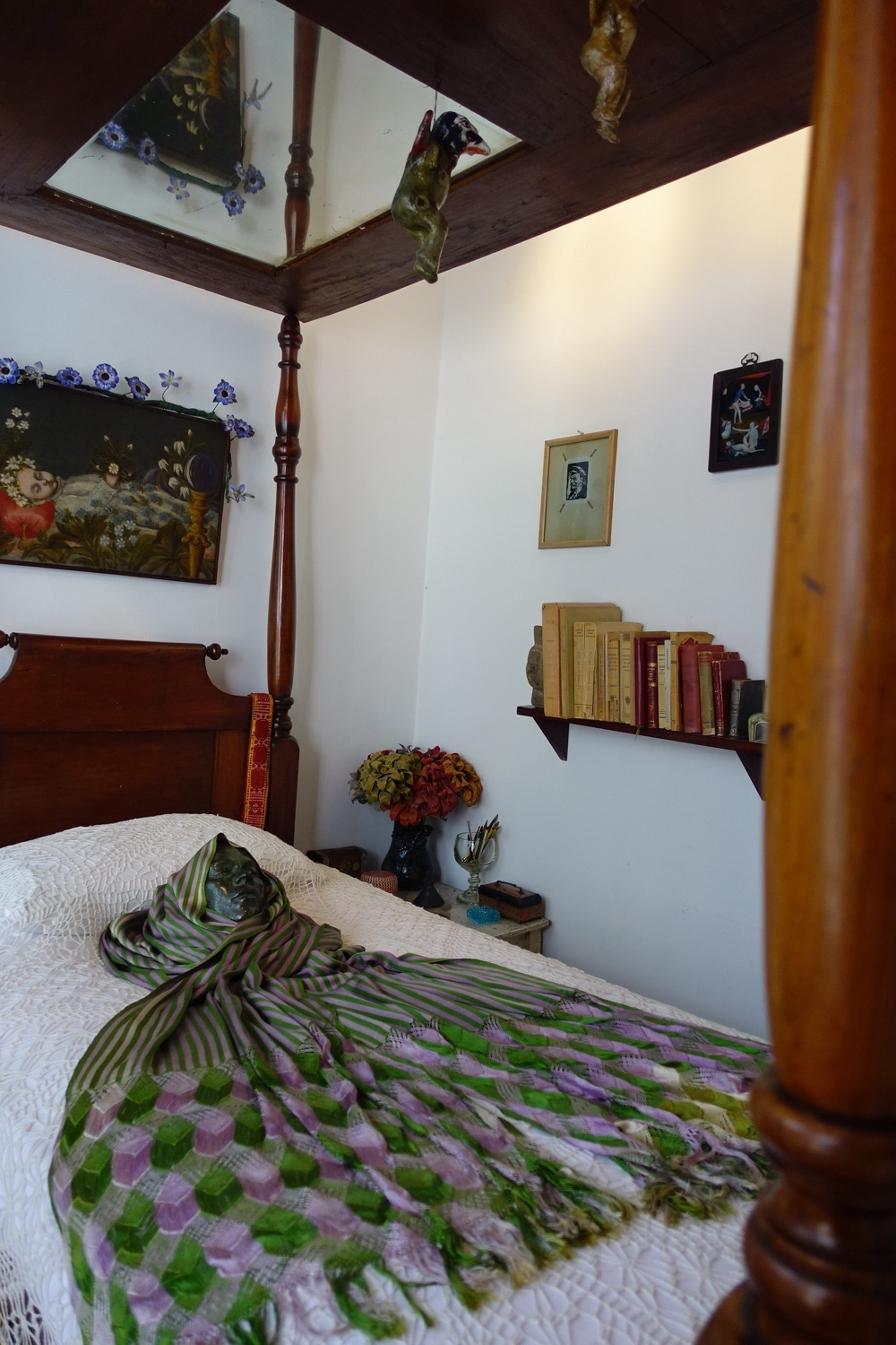 Bedroom of Frido Kahlo