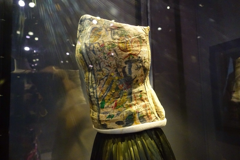 Frida Kahlo decorated corset